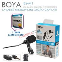 Microphone Mic Clip On Boya BY-M1 Lavalier - M1