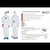 Baju APD Hazmat Impor Standar International CE