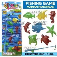 Mainan Anak Jadul Pancing Ikan Fishing Game Pancingan Fish Memancing