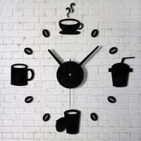 Jam Dinding DIY Giant Wall Clock Quartz Creative Design 30-60cm
