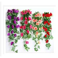 Bunga Dekor Model Imitasi Bahan Sutra