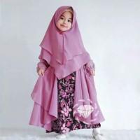 Outfit Hijab Fashion | Anak Kids Maxi batik kid | Konveksi Jakarta