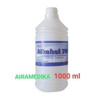 Alkohol 70 % 1000ml /Alkohol 1 Liter Onemed