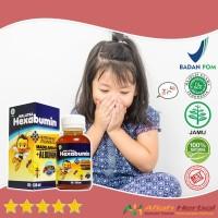 Herbal Hexabumin 130 Ml - Obat Batuk Pilek FLu Anak 100% Original