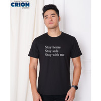 Kaos Corona - Stay home Stay safe Stay with me - By Crion