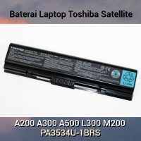 Baterai Laptop Toshiba Satellite A200 A300 A500 L300 M200 Original