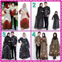 Baju batik couple keluarga baju ayah ibu dan anak perempuan