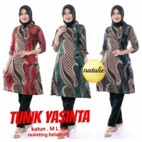 SIMIFASHION tunik etnik batik solo asli premium 3