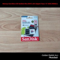 Memory Card Micro SD SanDisk Ultra SDHC Adapter Class 10 16GB (98MB/s)
