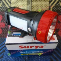Senter Emergency Surya SHT L8W 20LED SMD LED