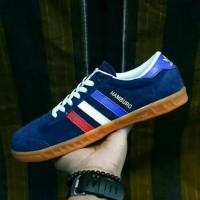 100%Grade Ori Sepatu Adidas Hamburg Men#Sepatu Bagus Solo#Import
