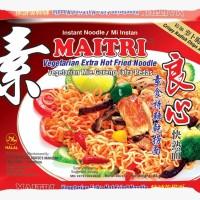 "Mie Instant MAITRI"" Vegetarian Mie Goreng Extra Pedas (5Pcs)"
