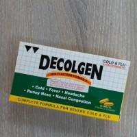 Decolgen Extra Strength Cold n Flu Panadol