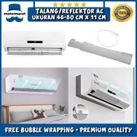 Talang Reflector AC Universal - Reflektor Penahan Hembusan Angin Cover