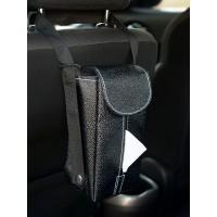 TECHNOZIO Tempat Tissue Gantung Mobil Motif Pari Hitam