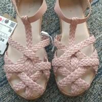 ZARA Kids Sandals - Dusty Pink