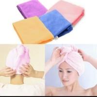Hair Wrap Magic Towel Handuk Keramas Penyerap air