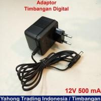 Sumsumshop433 Adaptor Timbangan Digital Charger Timbangan 12V 500 Ma
