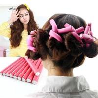 CLMX_10 Pieces Bendy Twist Curler Maker Soft Foam Hair Roller Rods