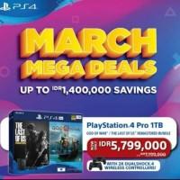 PS4 Pro 7218 1 TB Bundle God Of War dan The Last Of Us