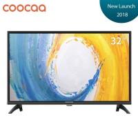 Coocaa 32 Inch LED HD Ready Digital TV Hitam Model 32D3