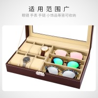 Best selling glasses storage box multi-cell large-capacity