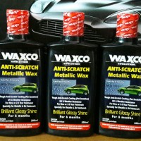 Waxco Anti Scratch Metallic Wax Kilap 6 Bulan Anti Gores 200ml