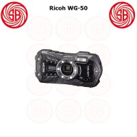 Kamera Ricoh WG-50 Black - Camera Pocket Underwater Macro Ricoh WG 5