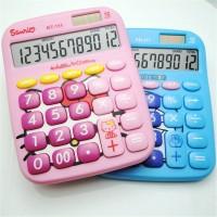 [Bayar Di Tempat]Kalkulator Saku Elektronik Mini Desain Hello Kitty