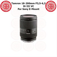 Lensa Tamron 18-200mm F3.5-6.3 VC for Sony E-Mount - Tamron Superzoo
