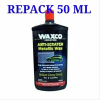 REPACK 50 ML Waxco Anti Scratch Metallic Wax Perlindungan Brilliant