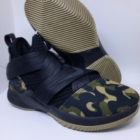 Sepatu Basket Nike Lebron James 12 Soldier Camo Man Murah