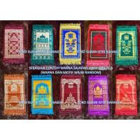 Sajadah Muka Izmir Grade A 35 Cm x 55 Cm Turki Kepala Anak Murah Haji