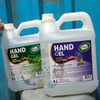 Primo Hand Sanitizer Gel 4L(liter) / 4000mL anti bakteri(bukan dettol)