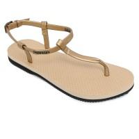 Sandal Wanita Panama Scarlette Gold SC07