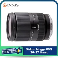TAMRON 18-200MM F/3.5-6.3 DI III VC LENS FOR SONY E MOUNT (BLACK)