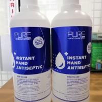 Hand sanitizer PURE 1000ml / 1 liter refill free botol spray 250ml