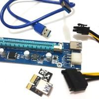 PCIE Riser 1x to 16x pci-e mining adapter converter vga external