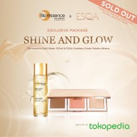 Exclusive Package Bio Essence Gold Water + The Goddess Cheek Palette A