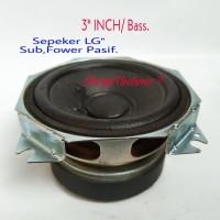 """Speaker LG""""( Fower Bass /Pasif ) 3.INCH. LG Speaker"""