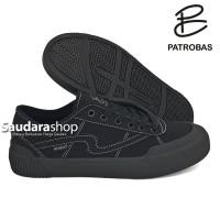 Sepatu Patrobas equip Low allblack / Patrobas equip allblack Low