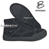 Sepatu Patrobas equip high allblack / Patrobas equip allblack HC