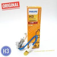 Philips Premium Vision H3 55W +30% Lebih Terang - Lampu mobil Foglamp