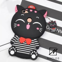 New Cat Kitty Silikon Soft Case Casing Imut Lucu for Oppo F7 / F7 Pro