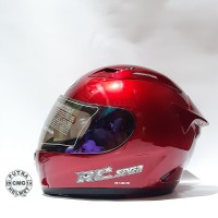 HELM KYT RC SEVEN RED MAROON