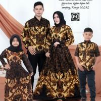 batik couple bajunkeluarga ayah ibu dan hem anak dan gamis anak
