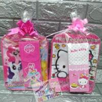 paket souvenir ulang tahun /paket tas dan kotak pensil/paket hemat