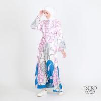 Gamis Wanita Premium Livitery -Emikoawa Dress Maxi Syari Lebaran Korea