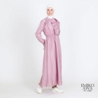 Gamis Wanita Premium Greta - Emikoawa Dress Syari Jepang Lebaran Hits