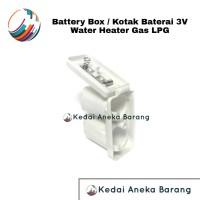 Battery Box Kotak Baterai Batere Batrai Batre Water Heater Gas LPG 3V